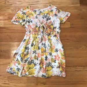 Free people mini floral dress